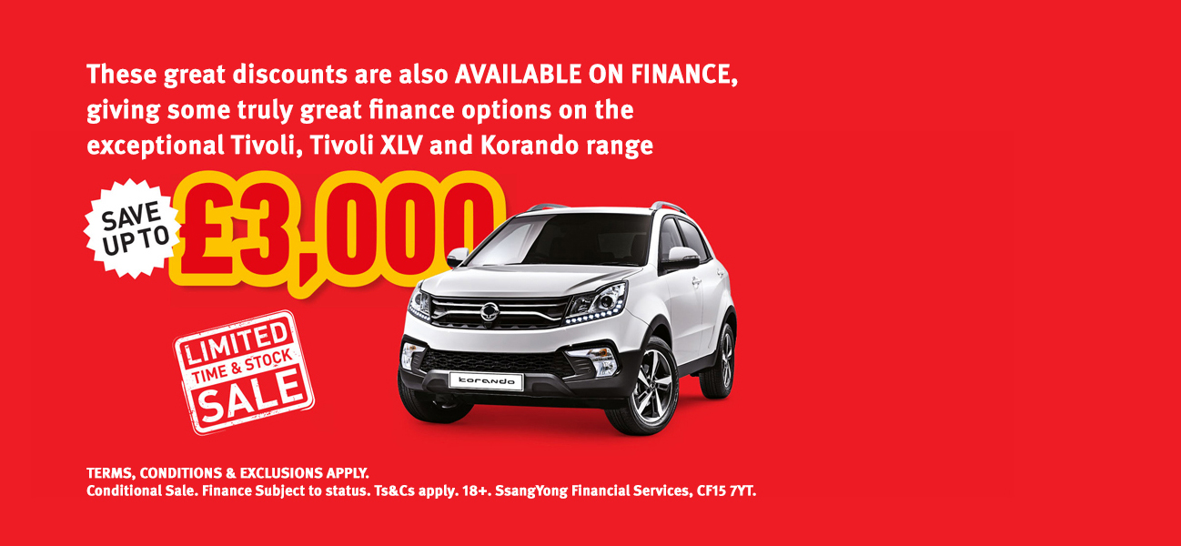 Korando 0% APR Offer